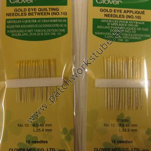 Gold Eye Quilting Needles