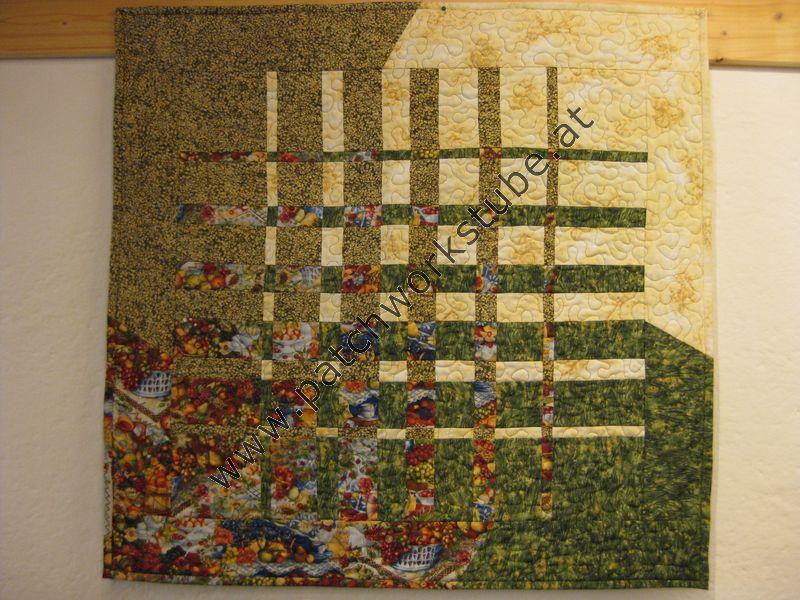 Wandbehang nach Ricky Timms, Maschine genäht und gequiltet